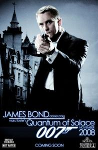 "Film - ""007 QUANTUM OF SOLACE"""